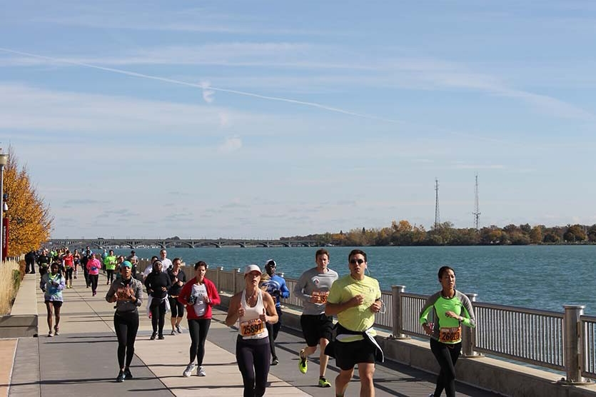 Detroit Riverfront Run